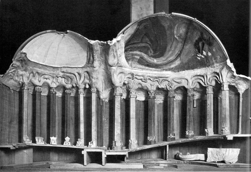 rudolf steiner 39 s first goetheanum construction and models. Black Bedroom Furniture Sets. Home Design Ideas